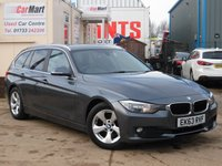 USED 2013 63 BMW 3 SERIES 2.0 320D EFFICIENTDYNAMICS TOURING 5d 161 BHP
