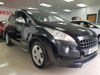 2011 PEUGEOT 3008 1.6 EXCLUSIVE HDI 5d+PAN ROOF+CRUISE CONTROL+CLIMATE CONTROL AIR CON £4990.00