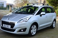 2015 PEUGEOT 5008 1.6 HDI ACTIVE 5d. LOW MILEAGE. 7 SEATS £9280.00