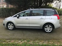USED 2015 15 PEUGEOT 5008 1.6 HDI ACTIVE 5d. LOW MILEAGE. 7 SEATS