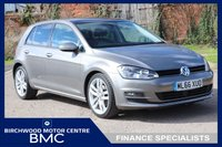 USED 2016 66 VOLKSWAGEN GOLF 1.4 GT EDITION TSI ACT BMT 5d 148 BHP