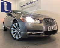 "USED 2009 JAGUAR XF 3.0 V6 S LUXURY 4d AUTO 275 BHP Fabulous example in Quartz Grey metallic with heated cream leather interior,huge spec incl 19"" alloys,Sat Nav,rear park sensors,blue tooth,climate,cruise-Only 75,498 miles with FSH -previously supplied by ourselves -huge performance withg 275bhp -paddle shift and Auto -must be viewed"