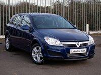 2009 VAUXHALL ASTRA 1.8 CLUB 5d AUTO 138 BHP £3945.00