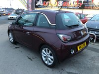 USED 2013 13 VAUXHALL ADAM 1.4 JAM 3d 85 BHP *** PAYMENTS LOW AS £95 A MONTH! *** ONLY 49,000 MILES! *** 12 MONTHS WARRANTY ***