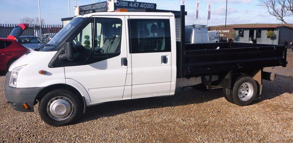 b9de5b56912f69 ... USED 2013 13 FORD TRANSIT TIPPER CREW CAB 2.2 350 DRW 1d 99 BHP DIESEL