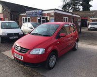 USED 2007 56 VOLKSWAGEN FOX 1.2 6V 3d 54 BHP