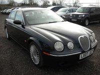 2007 JAGUAR S-TYPE 2.7 SE D 4d AUTO 206 BHP £2195.00