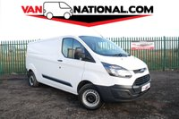 2016 FORD TRANSIT CUSTOM 2.2 290 L2 H1 LONG WHEEL BASE 100 BHP (ONE OWNER READY TO WORK) £9990.00