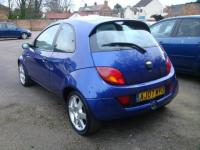 USED 2007 07 FORD KA 1.6 SPORTKA SE LEATHER 3d 95 BHP SPARES/REPAIRS/RUNS DRIVES OK
