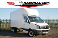 2016 VOLKSWAGEN CRAFTER CR35 TDI 2.0 CR35 TDI C/C LWB LUTON (ONE OWNER TAIL LIFT READY TO GO) £13690.00