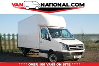 USED 2016 16 VOLKSWAGEN CRAFTER CR35 TDI 2.0 CR35 TDI C/C LWB LUTON (ONE OWNER TAIL LIFT READY TO GO)