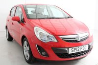 USED 2012 12 VAUXHALL CORSA ACTIVE