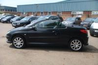 USED 2006 56 PEUGEOT 206 1.6 CC ALLURE 2d 108 BHP 2 TONE LEATHER SEATS