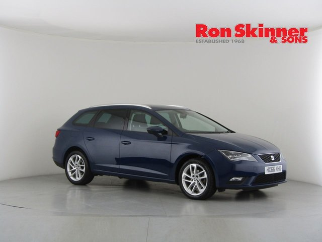 View our 2017 66 SEAT LEON 2.0 TDI SE DYNAMIC TECHNOLOGY 5d 150 BHP