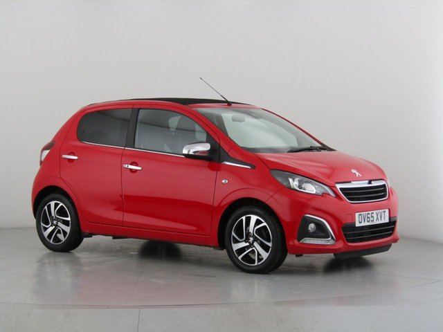 View our 2016 65 PEUGEOT 108 1.2 PURETECH ALLURE TOP 5d 82 BHP