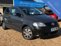USED 2010 10 VOLKSWAGEN FOX 1.2 6V 3d 55 BHP Low Mileage with FSH with VW build quality