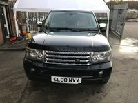 USED 2008 08 LAND ROVER RANGE ROVER SPORT 2.7 TDV6 SPORT SE 5d AUTO 188 BHP