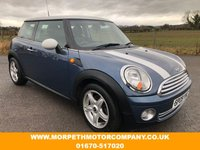2009 MINI HATCH COOPER 1.6 COOPER 3d 118 BHP £3995.00