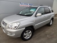 2006 KIA SPORTAGE 2.0 XS CRDI 5d 139 BHP FULL LEATHER 6 SPEED HEATED SEATS AWD £2995.00