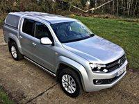2015 VOLKSWAGEN AMAROK 2.0 DC TDI HIGHLINE 4MOTION 1d AUTO 180 BHP £15250.00