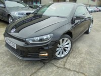 USED 2015 64 VOLKSWAGEN SCIROCCO 2.0 GT TDI BLUEMOTION TECHNOLOGY 2d 150 BHP Excellent Condition, One Owner, FSH, Low Rate Finance Available, No Deposit Necessary, Stunning Looking Car