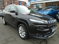 USED 2015 15 JEEP CHEROKEE 2.0 M-JET LIMITED 5d AUTO 168 BHP 1 OWNER, 23,000 MILES