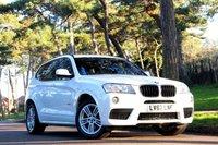 2012 BMW X3 2.0 XDRIVE20D M SPORT 5d  £15990.00