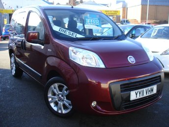 2011 FIAT QUBO 1.2 MULTIJET MYLIFE 5d 95 BHP £4495.00
