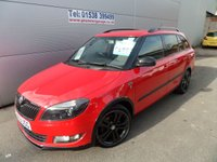 2013 SKODA FABIA 1.6 MONTE CARLO TECH TDI CR 5 DOOR ESTATE  105 BHP 44000 MILES £6995.00