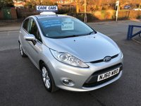 USED 2011 60 FORD FIESTA 1.2 ZETEC 5d 81 BHP Buy with confidence from a garage that has been established  for more than 25 years.