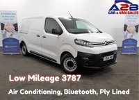USED 2016 66 CITROEN DISPATCH ENTERPRISE 1.6 BLUEHDI 115 BHP Medium Wheelbase, Very Low Mileage (3787) Air Conditioning, Bluetooth, Cruise Control, DAB Radio, Ply Lined, 3 Seats **Drive Away Today** Over The Phone Low Rate Finance Available, Just Call us on 01709 866668**