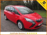 USED 2015 15 VAUXHALL ZAFIRA TOURER 1.4 EXCLUSIV 5d 138 BHP. *ULEZ COMPLIANT*EURO 6* Fantastic One Lady Owned Vauxhall Zafira Tourer Petrol with Seven Seats,  Air Conditioning,  Low Mileage and Vauxhall Service History. This Vehicle is ULEZ Compliant with a EURO 6 Rated Engine