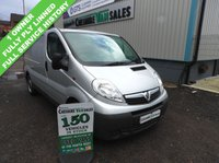 USED 2013 62 VAUXHALL VIVARO 2.0 2700 CDTI 90BHP 1 OWNER FROM NEW FULL SERVICE HISTORY  1 OWNER FROM NEW FULL SERVICE HISTORY