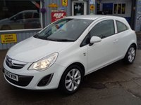 USED 2012 62 VAUXHALL CORSA 1.2 ACTIVE 3d 83 BHP  ONLY 47K 1 Lady Owner From New   EXCELLENT SERVICE HISTORY