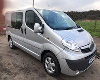 USED 2013 63 VAUXHALL VIVARO 2.0 2900 CDTI SPORTIVE 6 SEAT NO VAT VAN 113 BHP 6 MONTHS PARTS+ LABOUR WARRANTY+AA COVER