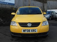 USED 2008 08 VOLKSWAGEN FOX 1.4 URBAN 75 3d 75 BHP ONLY 1 OWNER FROM NEW