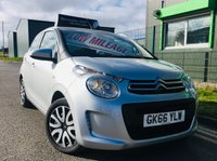 2016 CITROEN C1 1.0 FEEL 5 DOOR HATCH zero road tax to pay and only 17,000 miles £5995.00