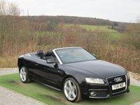 USED 2011 61 AUDI A5 3.0 TDI QUATTRO S LINE 2d AUTO 240 BHP
