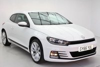 USED 2016 66 VOLKSWAGEN SCIROCCO 1.4 GT TSI BLUEMOTION TECHNOLOGY
