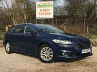 USED 2015 65 FORD MONDEO 2.0 TITANIUM ECONETIC TDCI 5dr £20 Tax, Sat Nav, Cruise