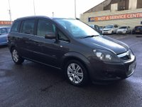 USED 2012 12 VAUXHALL ZAFIRA 1.7 DESIGN CDTI 5d 123 BHP GOT A POOR CREDIT HISTORY * DON'T WORRY * WE CAN HELP * APPLY NOW *