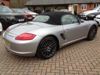 USED 2008 08 PORSCHE BOXSTER 3.4 RS60 SPYDER 2d 303 BHP FSH+Heated Leather+18in Alloys