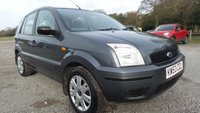 2004 FORD FUSION 1.4 FUSION 2 5d 78 BHP £1850.00