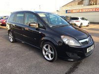 USED 2010 10 VAUXHALL ZAFIRA 1.9 SRI XP CDTI 5d 150 BHP GOT A POOR CREDIT HISTORY * DON'T WORRY * WE CAN HELP * APPLY NOW *