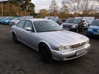 USED 2006 JAGUAR XJ 2.7 TDVI SPORT PREMIUM 4d AUTO 206 BHP LUXURY CAR WITH EXCELLENT SERVICE HISTORY, EXCELLENT SPEC, DRIVES SUPERBLY !!