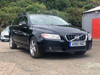 USED 2010 10 VOLVO V70 2.0 D3 SE 5d AUTO 161 BHP 1 PREVIOUS KEEPER *  FULL SERVICE RECORD *  LEATHER TRIM *  17 INCH ALLOYS *  CLIMATE CONTROL *