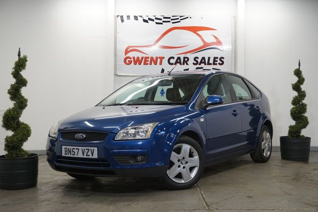 USED 2007 57 FORD FOCUS 1.6 STYLE 5d 100 BHP NEW MOT PLUS FRESHLY SERVICED