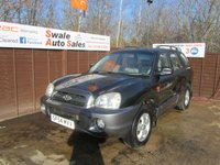 USED 2004 54 HYUNDAI SANTA FE 2.0 CDX CRTD 5d 112 BHP FINANCE AVAILABLE FROM £25 PER WEEK OVER TWO YEARS - SEE FINANCE LINK FOR DETAILS