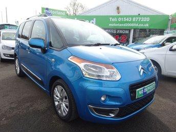 2012 CITROEN C3 PICASSO 1.6 PICASSO EXCLUSIVE EGS 5d AUTO 120 BHP £6500.00