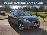 2015 PEUGEOT 2008 1.2 PURE TECH ACTIVE 5d 82 BHP £7650.00